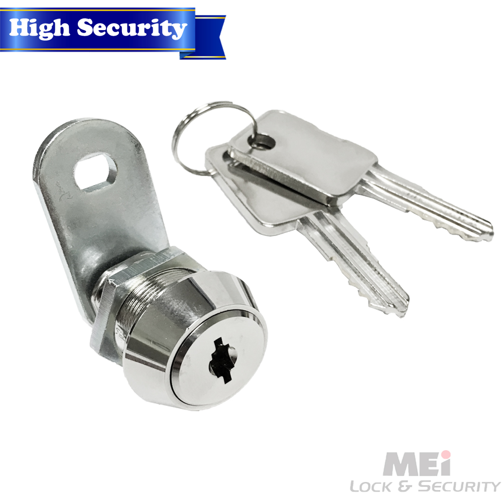 High Security 14 Disc Tumbler Triple Bitted Cam Lock